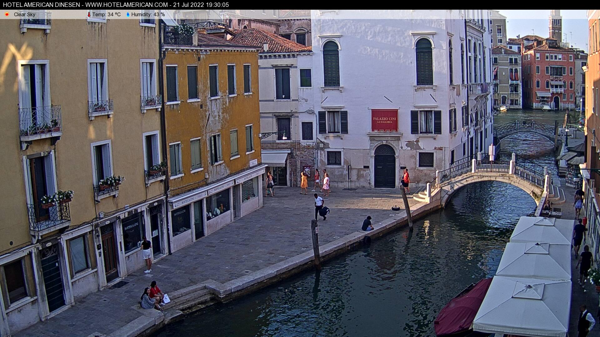 Webcam Venezia Dorsoduro il Canale